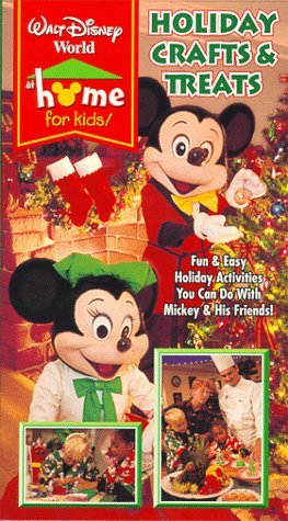 Cover of Disney at Home Holiday Crafts and Treats video produced by Hollywood Cows