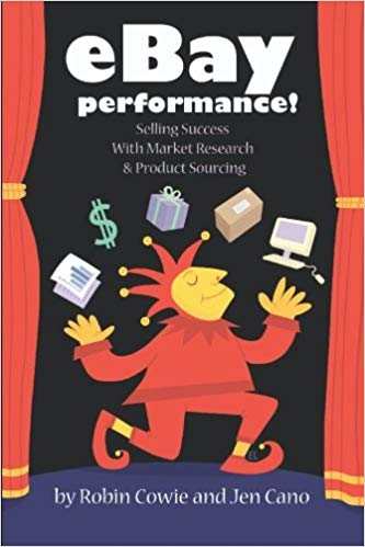 eBay Performance Ecommerce book co written by Robin Cowie