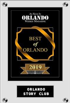 Best of 2019 Orlando Weekly award for Orlando Story Club
