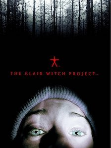 Movie Poster The Blair Witch Project - Haxen Films - Robin Cowie Producer