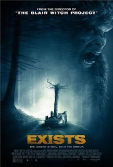Exists movie poster created by Haxen Films with Robin Cowie as Producer